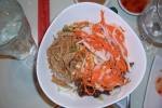 Bun Bi Thit Nuong (Shredded pork and noodles)