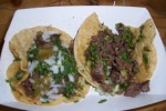 "Andrea's ""Wow it's food""  Steak Tacos"